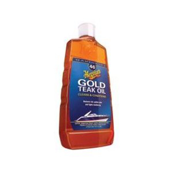 Meguiar's M4616 Gold Teak Oil