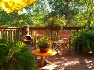 A Relaxing Patio Space
