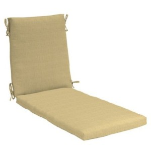 Strathwood Polyester Chaise Lounge Cushion